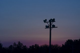 Artist: Dion Mcinnis - Title: Dusk Lights - Medium: Color Photograph - Year: 2007