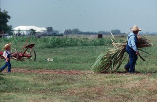 Artist: Dion Mcinnis - Title: Farmer Generations - Medium: Color Photograph - Year: 1994