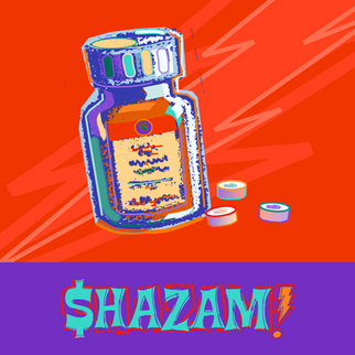 James Dinverno Artwork Shazam, 2002 Mixed Media, Surrealism