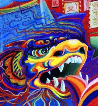 James Dinverno Artwork Yang, 1998 Mixed Media, Spiritual