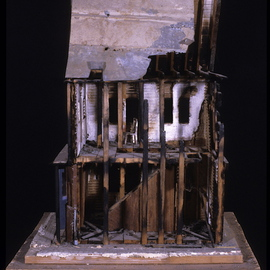 Dj Whelan Artwork crack house, 2005 Mixed Media Sculpture, Undecided