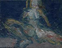 - artwork nude_7-1360158250.jpg - 2008, Painting Oil, Figurative