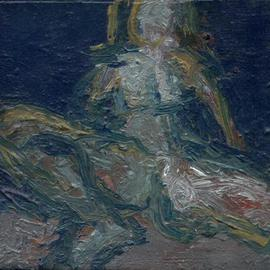 Djordje Sokolovski: 'nude 7', 2008 Oil Painting, Figurative. Artist Description:  female nude ...