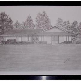 Dorothy Nuckolls Artwork Rohan 2, 2005 Pencil Drawing, Home