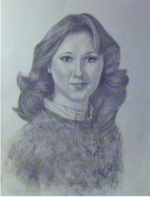 Dorothy Nuckolls  'Portrait Od Donna Macky', created in 2002, Original Drawing Pencil.