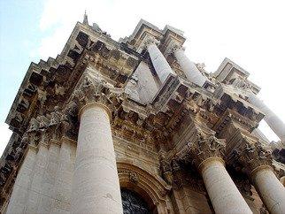 David Bechtol Artwork Church in Sicily, 2002 Church in Sicily, Travel
