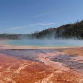 Grand Prismatic Spring  By David Bechtol