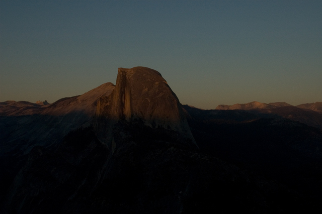 David Bechtol  'Half Dome At Dusk Number Two', created in 2006, Original Photography Other.