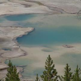 Midway Geyser Basin  By David Bechtol