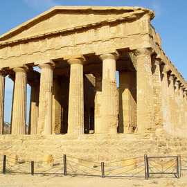 David Bechtol: 'Temple of Concord', 2002 Color Photograph, Travel. Artist Description:  Temple of Concord in the Valley of Temples area in Agrigento, Sicily ...