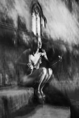 Dmitry Savchenko Artwork Rainy Morning Barcelona  Limited Edition, 2015 Black and White Photograph, Nudes