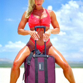 David Nienow: 'Desert Traveller', 2010 Color Photograph, Erotic. Artist Description:  Model: Sherry Gideons   ...