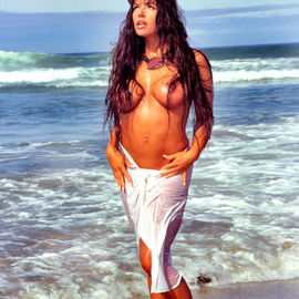 David Nienow: 'Goddess of the Seas', 2010 Color Photograph, Erotic. Artist Description:    Model: Tara Caballero  ...