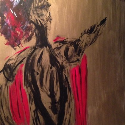 , Venus Mother, Abstract Figurative, $5,250