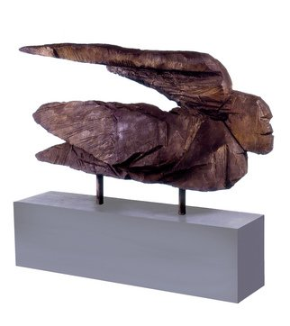 Bronze Sculpture by Domingo Garcia titled: Jurakan Dios del Viento, 2007