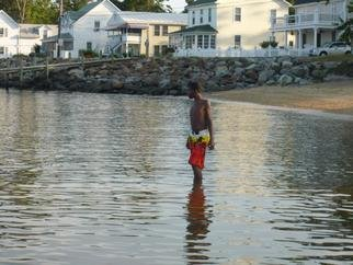 Donald Mccray: 'Colonial Beach VA', 2011 Color Photograph, Beach.