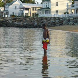Donald Mccray Artwork Colonial Beach VA, 2011 Color Photograph, Beach