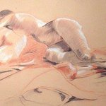 Reclining Woman By Donna Gallant