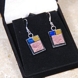 , Mosaic Earrings, Fashion, $26
