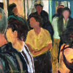 Gallery Crowd, Bob Dornberg