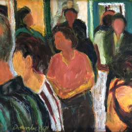gallery crowd By Bob Dornberg