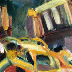nyc cabs By Bob Dornberg