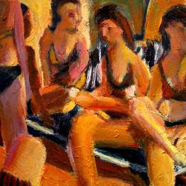 sl5 girls at pool