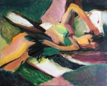 Bob Dornberg Artwork sleeping, 2021