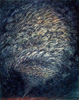 Artist: Dorothy Englander - Title: Twister - Medium: Oil Painting - Year: 1992