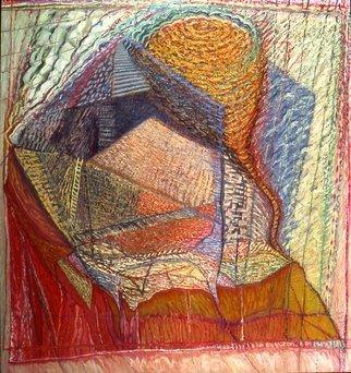 Artist: Dorothy Englander - Title: While the Gatekeeper Sleeps - Medium: Oil Painting - Year: 1992
