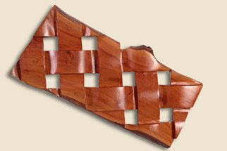 Doron Alcalay: 'no title', 2007 Wood Sculpture, Abstract. Artist Description:  Pear wood wall maunted sculpture ...