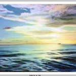 Sunrise At Sea By Dorothy Sitka