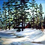 Tahoe Snow By Dorothy Sitka