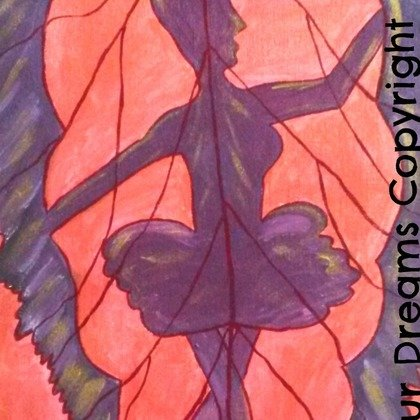 , Ballet In Leaf, Abstract, $315