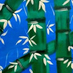, Bamboo Painting, Abstract, $525