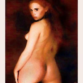 Frank Armsworthy: 'untitle', 2005 Oil Painting, Nudes.