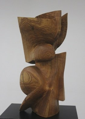 Daniel Lombardo: 'Flight', 1986 Wood Sculpture, undecided. Artist Description:              abstract  wood carved            ...