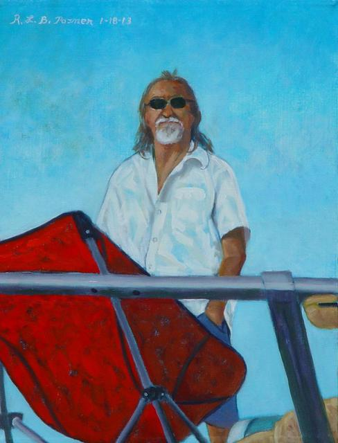 Lou Posner  'Danny On The Bow', created in 2013, Original Other.