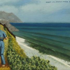 painting Doc Theo Remembers Greece painting By Lou Posner