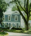 Artist: Lou Posner, title: Dr George Rapp Family Home ..., 2001, Painting Oil