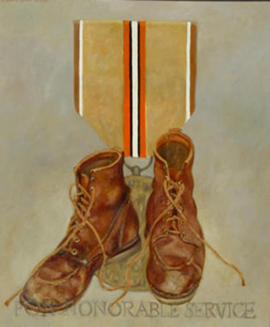 Lou Posner  'For Honorable Service', created in 1987, Original Other.