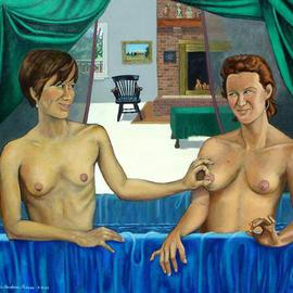 Ladies in the Bath By Lou Posner