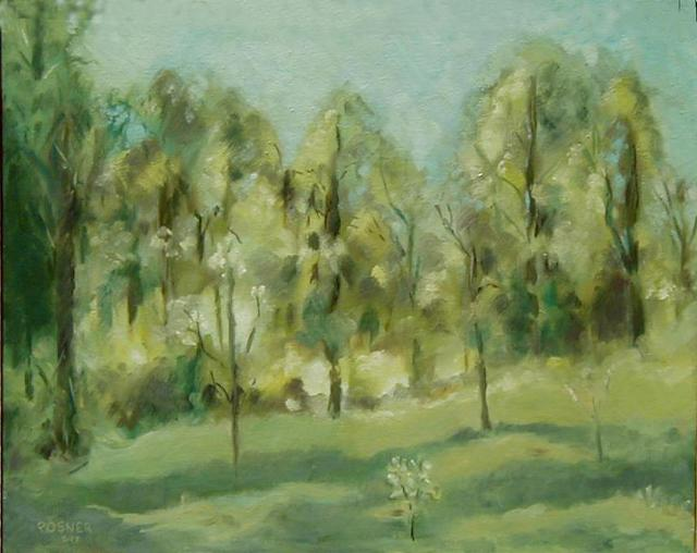 Lou Posner  'Owen County Landscape', created in 1977, Original Other.