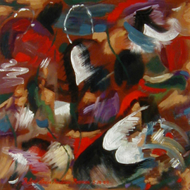 Lou Posner: 'Pendant to Shoes', 2000 Oil Painting, Fashion. Artist Description: A pendant is an additional, usually smaller, thing or part that supplements or complements another, larger part.  This painting is a pendant to the 22x42 ( horizontal) painting, Shoes,  and is currently in a Rio de Janeiero collection....