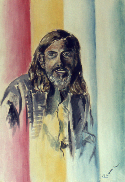 Lou Posner  'Portrait Of Dr John J  Mood', created in 1972, Original Other.