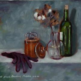 Still Life with Cotton By Lou Posner