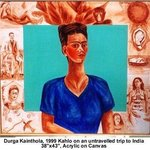 kahlo on an untravelled trip to india By Durga Kainthola