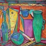 Still Life With Jug By Durlabh Singh