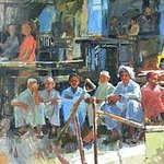 waiting for work By Durre Waseem