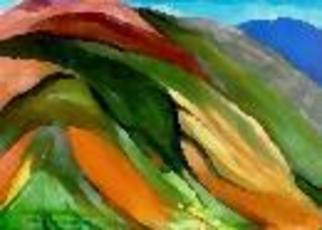 Duygu Kivanc Artwork Hills Of Virginia, 2000 Oil Painting, Abstract